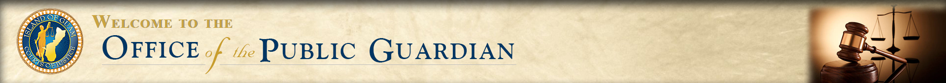 Office of the Public Guardian Header